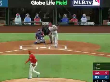 Trout hits his fifth career birthday home run to put the Angels (-175 ML) up 2-0.  Trout was +210 to homer tonight @betthebases
