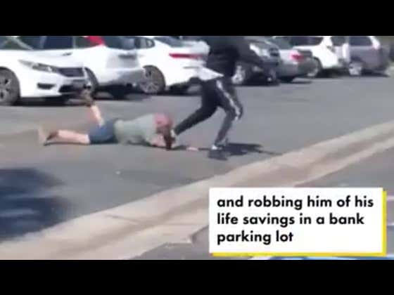 As If By Pure Coincidence, Man Is Beaten And Robbed Of His Life Savings In The Bank Parking Lot
