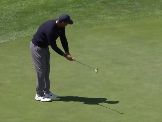 Tiger's Putter Sucked Today
