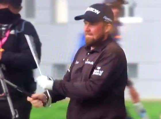 Shane Lowry Just Went HULK SMASH On One Of His Clubs At The PGA Championship