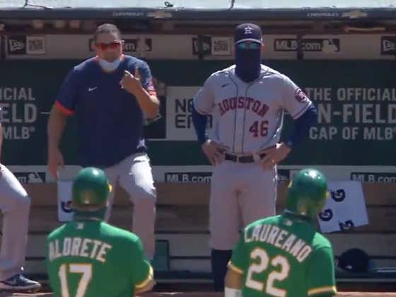 Astros Hitting Coach Alex Cintron Is The Biggest Pussy In Major League Baseball