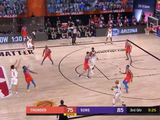 Devin Booker Draining This Shot From The Logo Is Nothing Short Of Mesmerizing