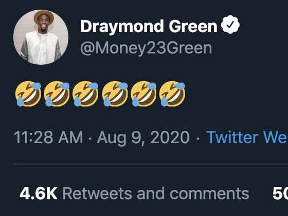 Draymond Green Got Fined $50,000 For Tampering While On TV And Does Not Give A Single Fuck