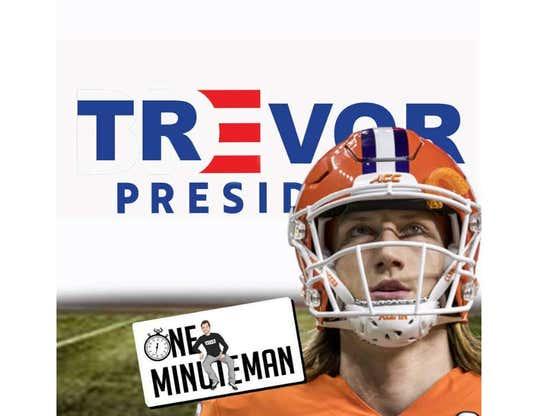 One Minute Man: Can Trevor Lawrence Save College Football?