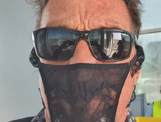 Eccentric Tycoon John McAfee Arrested For Wearing Thong-Mask At Airport