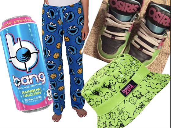 A Tribute To The Cookie Monster And Mountain Dew Pajama Pants Kids