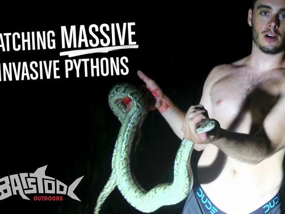 Barstool Outdoors S2 Episode 7: Bloody, Muddy, Python Noodling In My Underwear