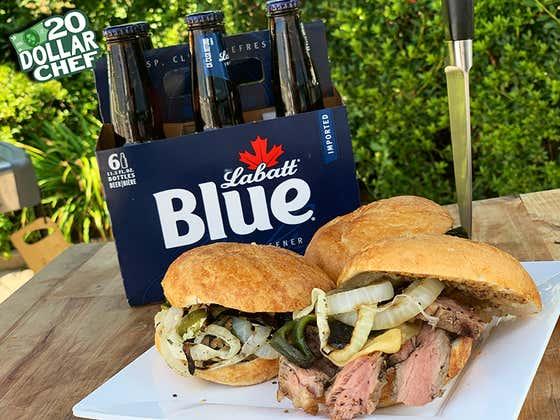 20 Dollar Chef - Ribeye Sandwich