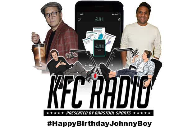 KFC Radio: Answer the Internet The App is Here, Rob Schneider, and Ravi Patel