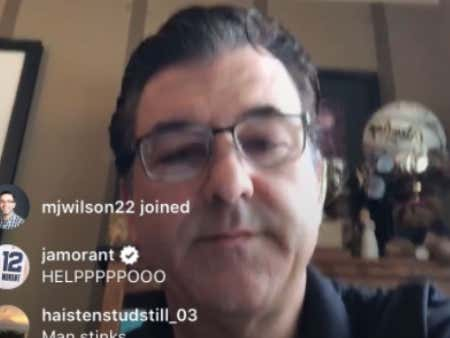 Recruiting Analyst Had No Idea How To Work IG Live For 5-Star Kennedy Chandler's Commitment And Ja Morant Lost His Mind In The Comments