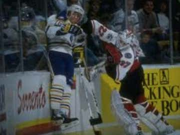 Wake Up With Ron Hextall Beating The Living Piss Out Of People On The Ice