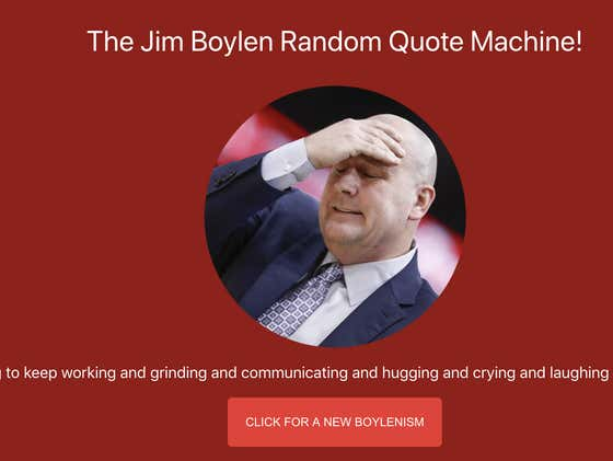 The Bulls Have Fired Jim Boylen One Day After Someone Created A Website Of Boylen's Greatest Quotes