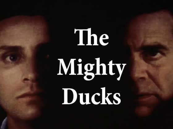 """This Trailer For """"The Mighty Ducks"""" Recut As A Thriller Isn't Enough. We Need The Full Movie"""