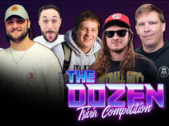 Two Records Set In Heated Walk The Line Rivalry (The Dozen: Trivia Competition - Episode 036)