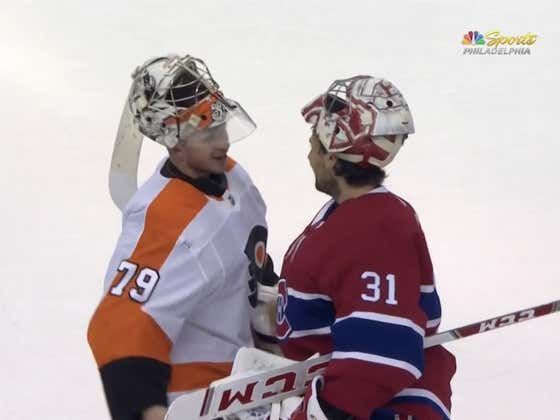 The Philadelphia Flyers Win Their First Playoff Series Since 2012 As Carey Price Gets The Chance To Lose To His Idol Carter Hart