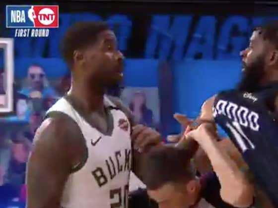 WE GOT AN NBA PLAYOFF FIGHT WITH AN ACTUAL PUNCH!! (Well, Pretty Much)