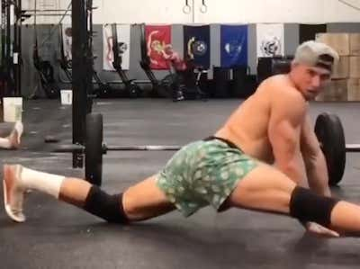 Is There Anything More Cringeworthy Than A Couple Of CrossFit Bros Dancing To WAP?