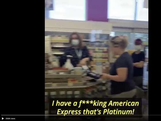 We've Got Another Karen Meltdown Video. This Time At Walgreens Because The Line Was Too Long.