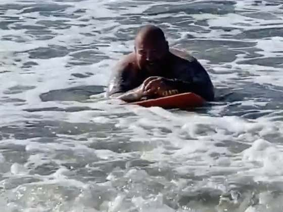 Boogie Boarding Is Officially Back Now That Action Bronson Is Out There Shredding Some Tasty Waves