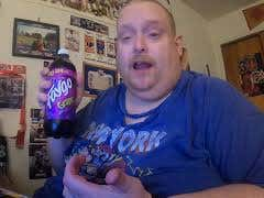 Tank's Taste Test Faygo Grape Soda