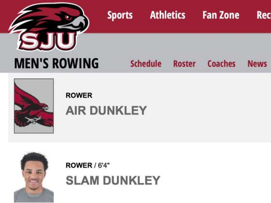 How Dissapointed Must Slam And Air Dunkley's Father Must Be That They Turn Out To Be Rowers And Not Basketball Players?