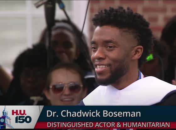 Midweek Motivation - Chadwick Boseman Commencement Speech