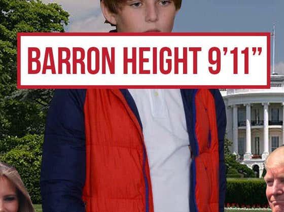 """Barron Height 9'11"""""""