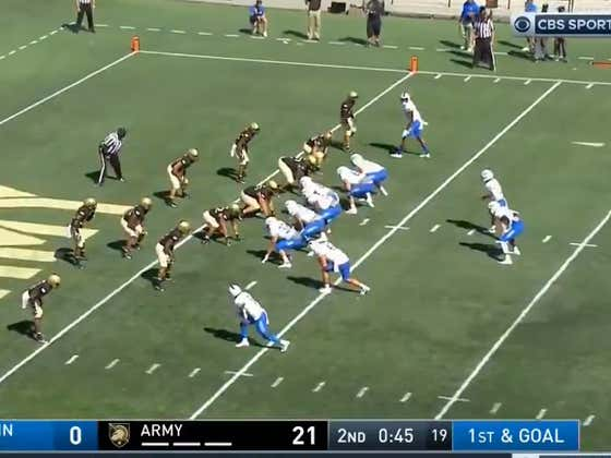 All Time Bad Clock Management Costs 1st Half Over From Hitting In MTSU-Army