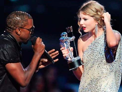 "Kanye West Claims ""God Told Him To Grab The Mic From Taylor Swift"" At The 2009 VMAs"