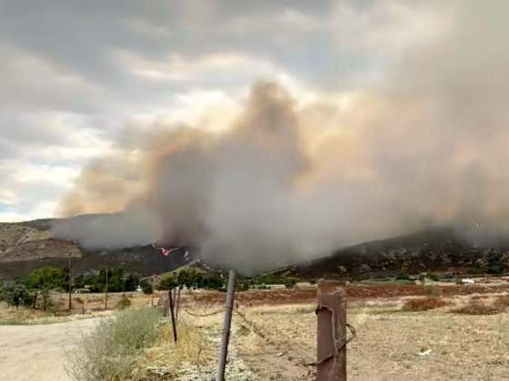 Gender Reveal Party Explosive Starts A Wildfire In California That's Burned 7,000 Acres