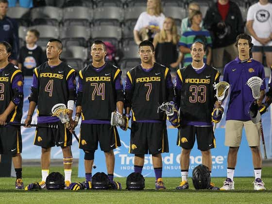 The Iroquois Nationals Are Going To The World Games After Team Ireland Voluntarily Gives Up Their Spot In The Tournament