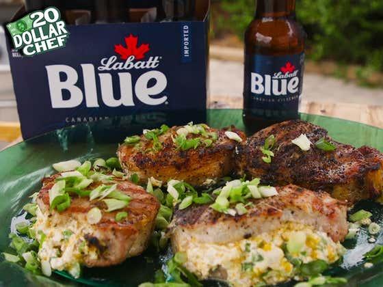 20 Dollar Chef - Stuff Chops & Labatt Blue