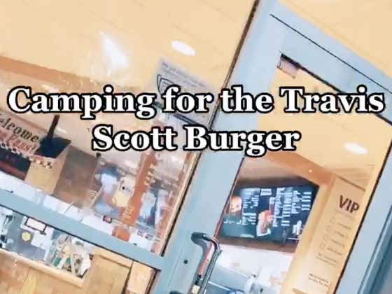 This Is How Hypebeasts Are Waiting For The Travis Scott Burger