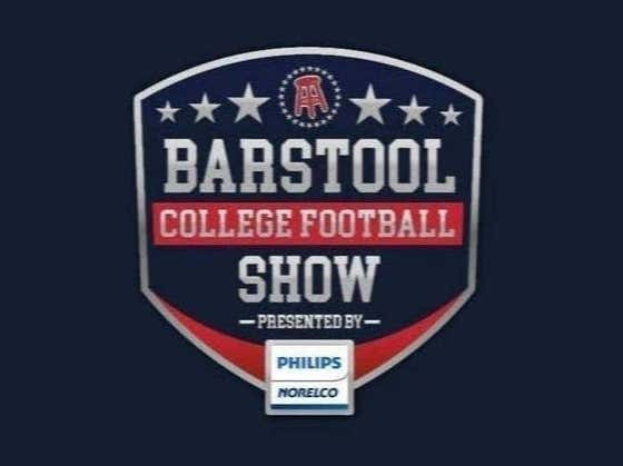 Barstool College Football Show presented by Philips Norelco - Week 2