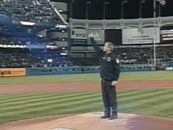 Wake Up With George Bush's First Pitch After 9/11