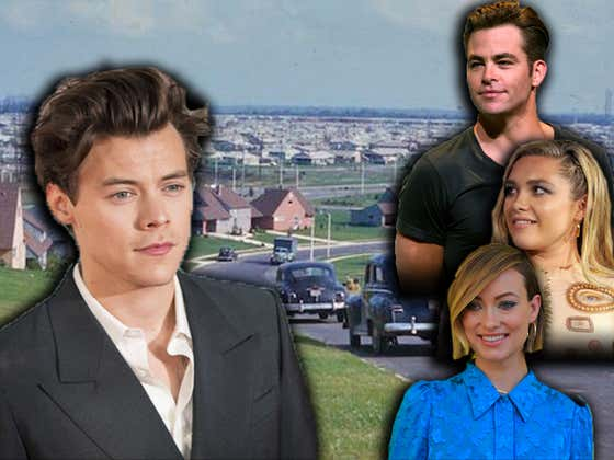 Harry Styles Is Teaming Up With Florence Pugh And Chris Pine For 'Don't Worry Darling'