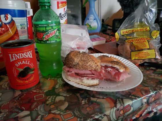 Tank Cooks Week 1 Sandwich