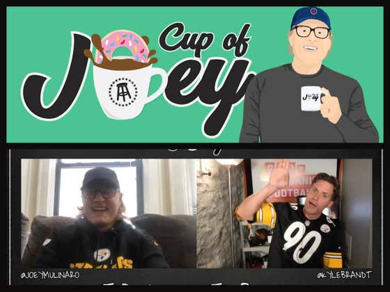 Cup Of Joey WIth GMFB's Kyle Brandt