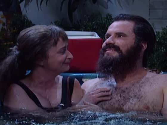 Wake Up With Will Ferrell And Rachel Dratch As Hot Tub Love-ahs