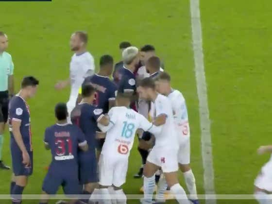 We Got A Soccer Fight Involving Neymar, 14 Yellow Cards, 5 Red Cards, Spitting And Just Unreal Flopping