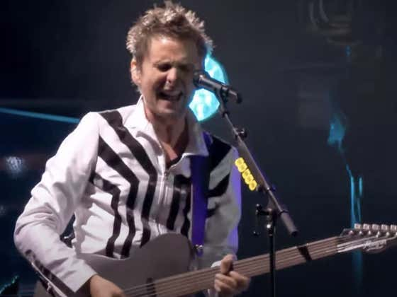Recommended: Muse - Panic Station (Live At Rome Olympic Stadium 2013)