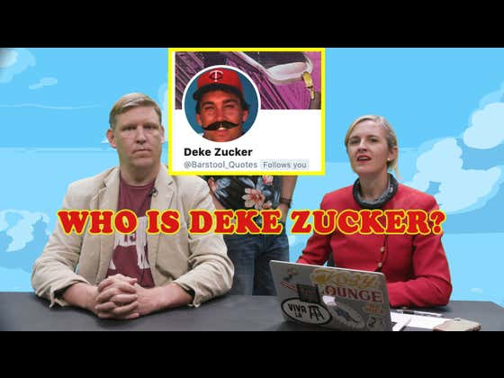 Mornin' Sunshine: Deke Zucker Revealed & Colin Cowherd Talks The Line