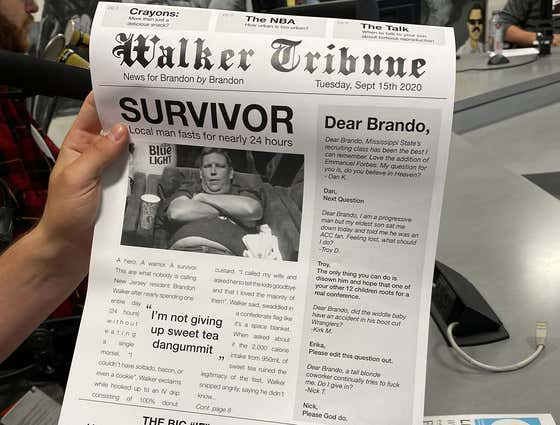 Check Out Today's Copy Of The Walker Tribune