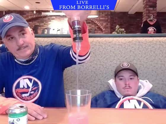 Pain. The New York Islanders Have Been Eliminated.