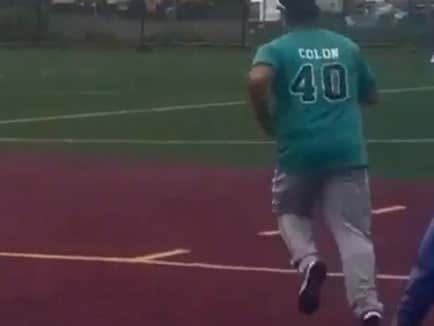 Bartolo Colon Was Built To Be A Beer League Softball Legend