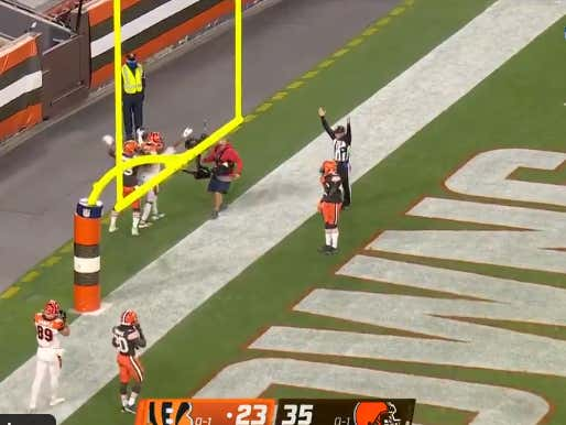 Bengals Backdoor The Hell Out Of The Browns -6