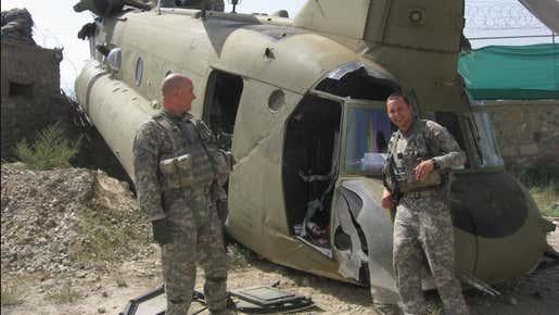 A Helicopter Crash Survivor