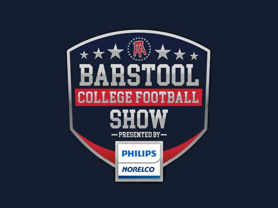 Barstool College Football Show presented by Philips Norelco - Week 3