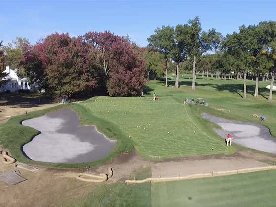 The Process Behind Restoring The 15th Green At Winged Foot