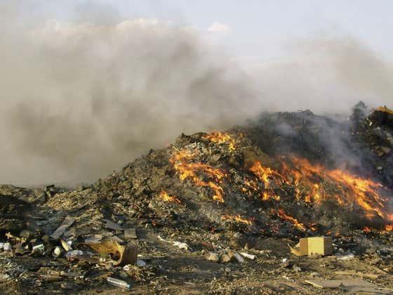 Burn Pits Are Killing Veterans